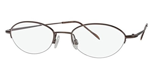 Flexon Flx 883Mag-Set Eyeglasses 218 Coffee 218 Demo 48 18 135 ()