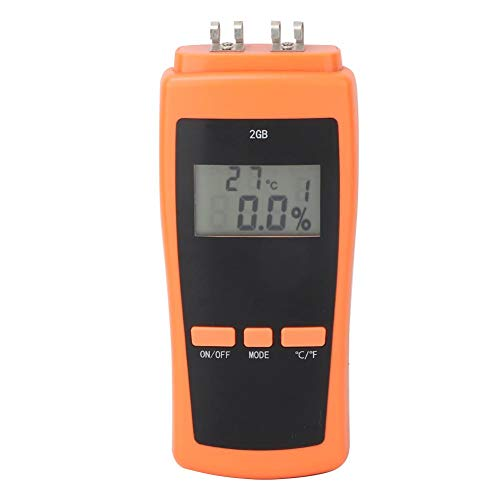 Paper Moisture Meter,LCD Display Paper Moisture Meter Humidity Detector Measuring Tool,Suitable for Writing Paper, Coated Paper, Corrugated Paper and New Paper, etc
