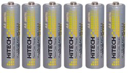 argeable AA Batteries Ni-Mh 1.2V ()