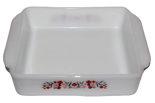 Vintage 1960s Fire King Primrose Square Baking Dish
