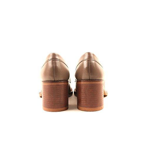 Pelle Tortora Della UK Tacco Del Di Mocassino Cai Con Carlton London 3 qg6zwxt
