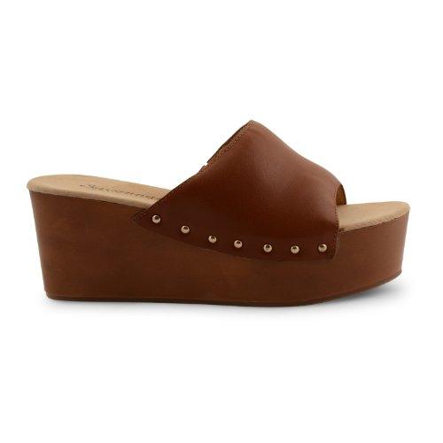 Footwear Sensation - Sandalias de vestir para mujer negro negro negro - canela