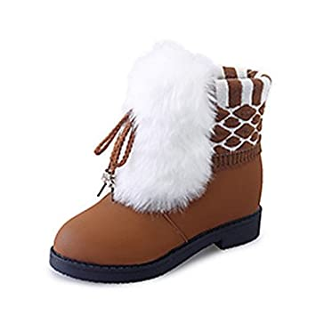 1d6199a560c RTRY Zapatos De Mujer Pu Moda Otoño Invierno La Nieve Botas Botas Botas De  Tacón Bajo ...