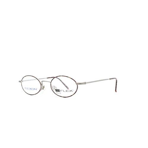 Flexon 2204 HVNP Dark Gray Oval Eyeglasses Frame For Men and Women ...