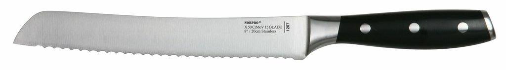 Norpro Stainless Steel 8-Inch Bread Knife
