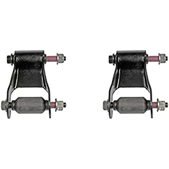 AutoDN 2 PCS Rear Left and Right Pair Leaf Spring Shackle Compatible With 1996 TOYOTA TACOMA