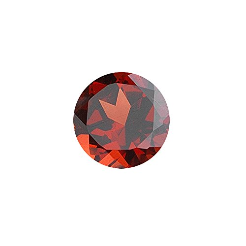 0.65-0.70 Cts of 5x5 mm AAA Round Garnet (1 pc) Loose Gemstone