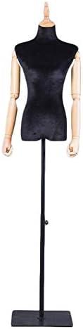 SGMYMXテーラーダミー 裁縫洋裁ダミーファッションモデルは、バスト、黒い正方形ベースを示します テーラーのダミー (Color : C)