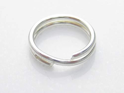 5 x 7 mm anillas de llavero de plata de ley 925. Llaveros ...