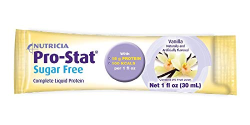 Pro-Stat Sugar-Free Protein Supplement Vanilla Flavor 1 oz. Individual Packet Ready to Use, 40464-U – Case of 96