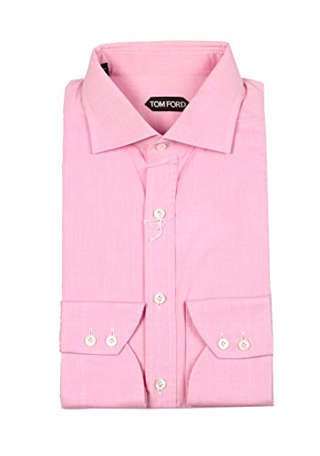 CL - TOM FORD Solid Pink Shirt Size 43 / 17 U.S.