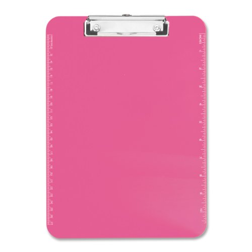 Neon Transparent Plastic Clipboard SPR01868