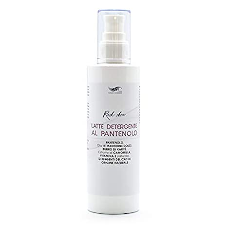Leche Desmaquillante Limpiadora Con Pantenol Vit E Natural Manzanilla Aceite Dulce De Almendra Y Manteca De