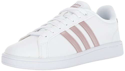 adidas Performance Women's CF Advantage W, White/Vapour Grey/White, 9.5 M US (Women Adidas Basketball Shoes)