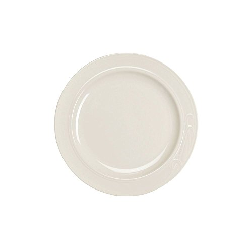 "Homer Laughlin 6091000 Lyrica 10.58"" Plate - 12 / CS"