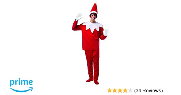 d0e1923404ab5 Amazon.com  Rasta Imposta Men s Elf On A Shelf