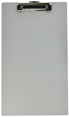 Officemate OIC Aluminum Clipboard, Legal Size, Silver (83212)