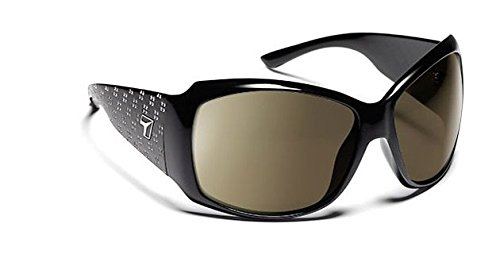 7 Eye Natasha Sunglasses, Glossy Black with Bling Frame, 24 - 7 Copper NXT - Sunglasses Natasha
