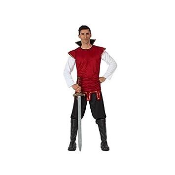 Atosa- Disfraz Rey Medieval, Color Rojo, M-L (5038): Amazon.es ...
