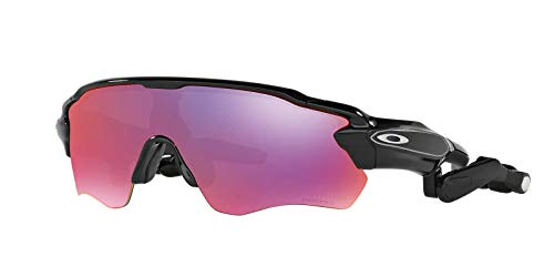 Oakley Radar Pace Prizm Road Sunglasses (OO9333) Black/Red Plastic - Non-Polarized - 37mm