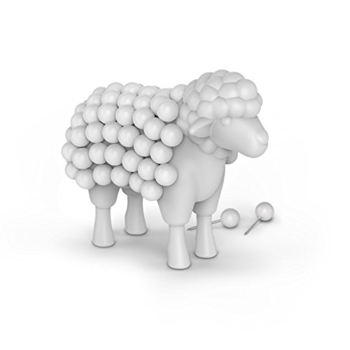 Fred Stuck ON EWE Sheep Push Pin Holder by Fred & Friends