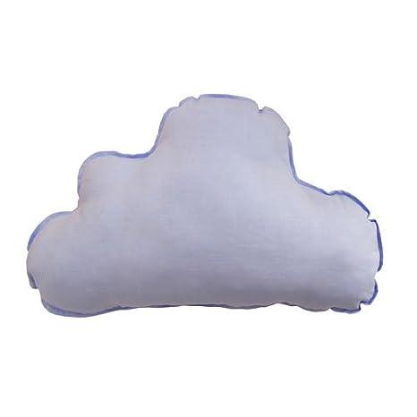 Gris//Blanco Varios colores disponibles. 2 piezas: luna y nube Pack de cojines personalizados BORDADOS CON EL NOMBRE DEL BEB/É