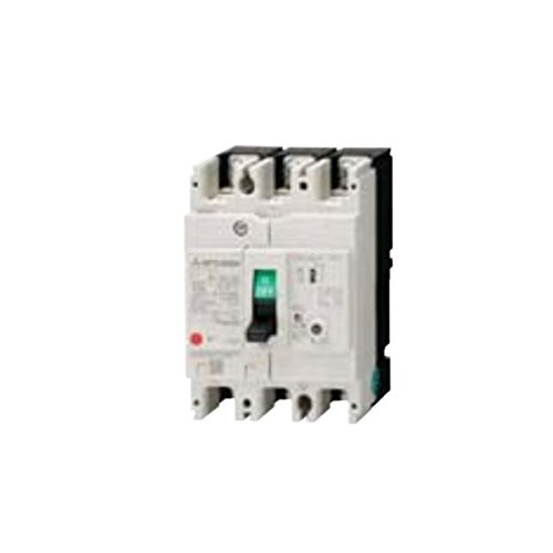 MITSUBISHI ELECTRIC NV63-CV 2P 10A 30MA Earth Leakage Circuit Breaker(Rated current In 10A)(Frame 50A)(2Poles) NN by Mitsubishi Electric