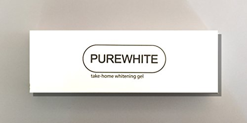Purewhite Teeth Whitening 35% Take-Home Whitening Gel (2 Syringes 3.0 cc) by PureLine Oral Care