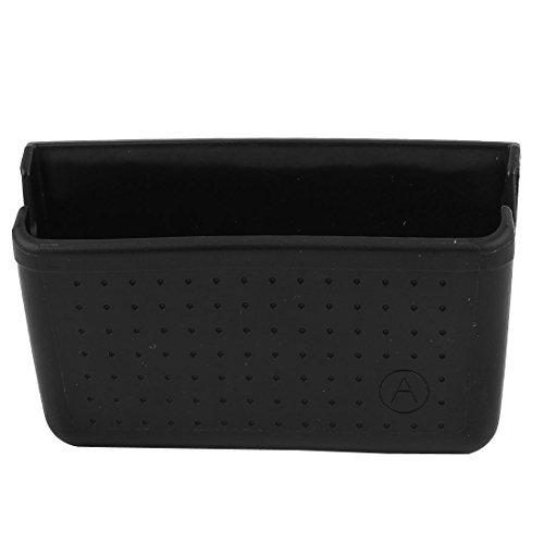 (Car Black Plastic Parihabang Pillar Pocket Holder para sa Mobile Phone)