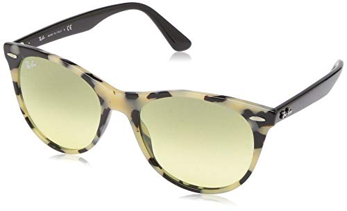Ray-Ban RB2185 Wayfarer II Evolve Sunglasses, Beige Havana/Photochromic Yellow Gradient, 55 - Beige Havana Sunglasses