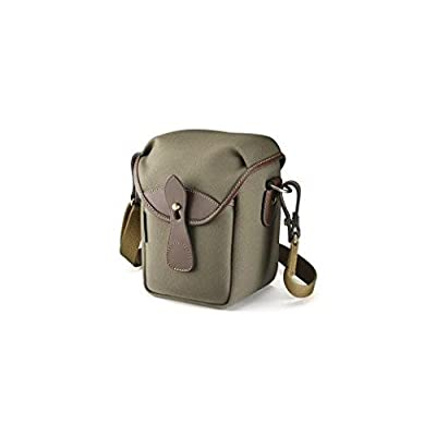 Image of Billingham 72 Small Camera Bag (Sage FibreNyte/Chocolate Leather) Camcorder Cases