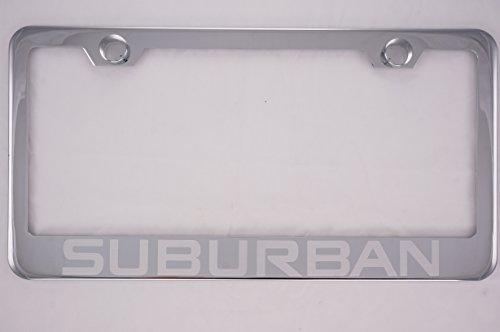 suburban license plate frame - 7