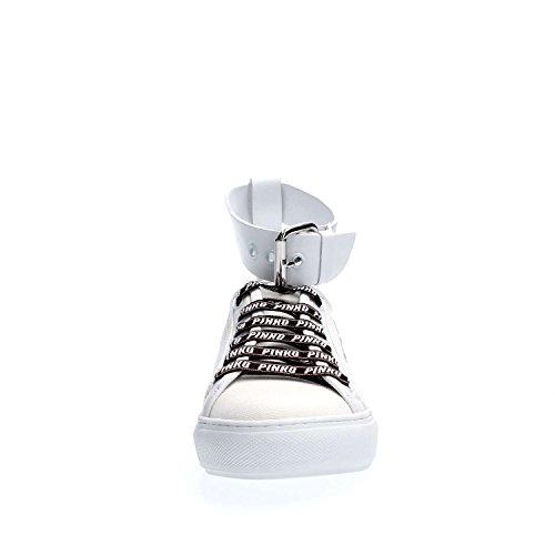 Sneakers Sneakers Mandorla Femme Sneakers Femme Mandorla Bianco Pinko Pinko Mandorla Pinko Bianco wS5Izcpqz