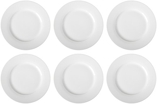 AmazonBasics 6-Piece Dinner Plate Set by AmazonBasics (Image #2)