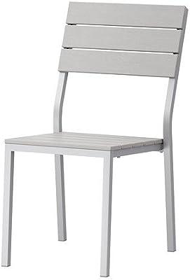 Ikea Falster Chaise Pour L Extérieur Gris Empilable