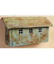 Arroyo Craftsman GMBL-P Glasgow Horizontal Mail Box, Pewter Metal Finish by Arroyo Craftsman