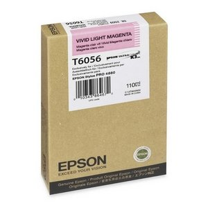 Epson America Inc. Products - Ink Cartridge, 110 ml, Vivid Light Magenta - Sold as 1 EA - Ink cartridge is designed for use with Epson Stylus Pro 4880. UltraChrome K3 ink can produce archival prints with amazing color fidelity, gloss level, and scratch-resistance, while providing consistently stable colors that significantly outperform lesser ink technologies. This breakthrough ink technology also makes it the perfect choice for professional neutral and toned black/white prints with higher densi