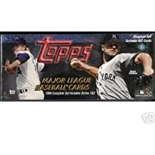 1999 Topps Baseball Factory Sealed 462 Card Set Loaded with Stars Including Cal Ripken, Alex Rodriguez, Roger Clemens, Greg Maddux, Nolan Ryan, Tony Gwynn, Derek Jeter, Barry Bonds, Mike Piazza, Ken Griffey, Mark McGwire Home Run Record Card and Much More!