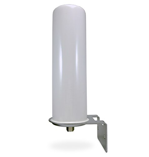Mast Wall Antenna Mount (Proxicast High Gain 10 dBi Universal Wide-Band 3G/4G/LTE Omni-Directional Outdoor Pole/Wall Mount Antenna for Verizon, AT&T, Sprint . . .)