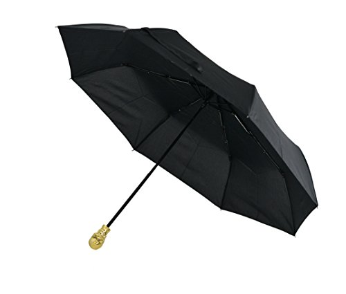 ARAD Gold Skull Handle Umbrella - Square Extending Table