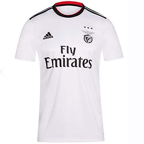 adidas 2018-2019 Benfica Away Football Soccer T-Shirt Jersey (Kids)