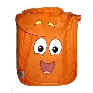 Dora the Explorer Diego Lunch Bag Lunchbox - Diego Orange Lunch Tote Bag, Great idea for Kids gift. by Diego