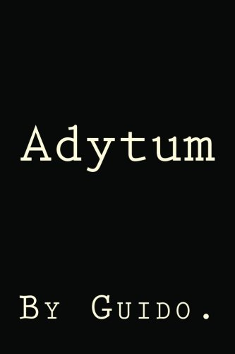 Book: Adytum by Guido