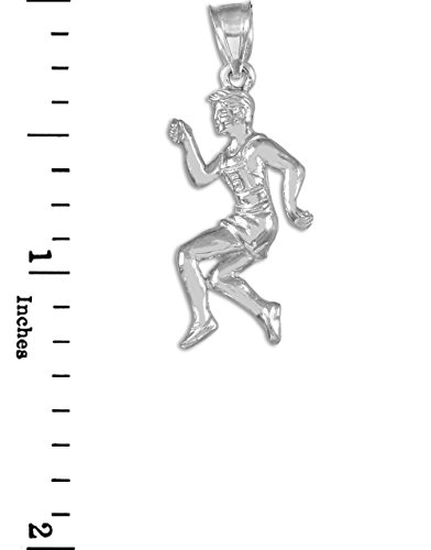 10 ct 471/1000 Coureur Or Blanc Pendentif