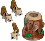 Hide A Squirrel Plush Puzzle Toy For Dogs