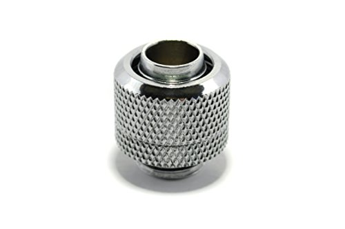 Water Cooling Compression Fitting for Soft Tubing, G1/4