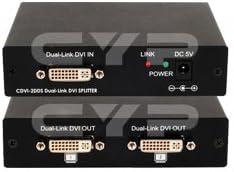 Cypress Technology デュアルリンク DVI 1x2、1x4スプリッター CDVI-2DDS
