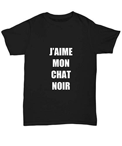 Cat Noir T-Shirt Chat Black Funny Gift Gag Unisex tee