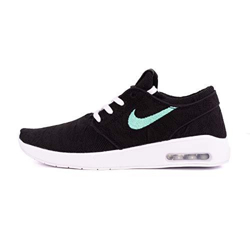 Nike Men's SB Air Max Janoski 2 Skateboarding Shoes (10 D(M) US, Black/Anthracite-White)