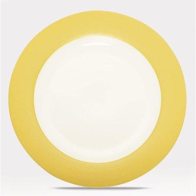 Noritake Colorwave Mustard Rim Dinner Plate